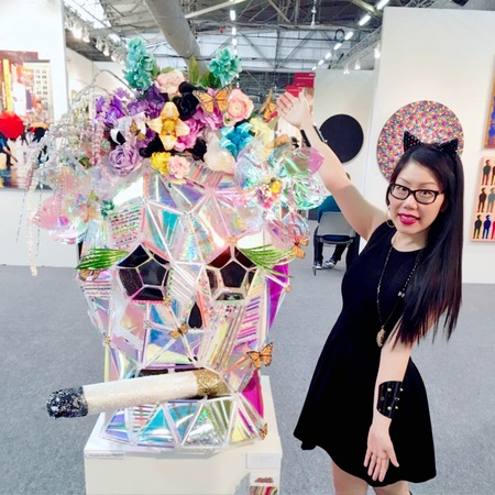 Christybomb is the Featured [Solo} Artist at Art Expo NYC 2017