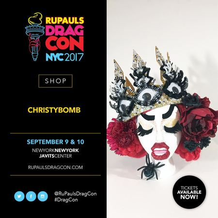 Christybomb and RuPaul!