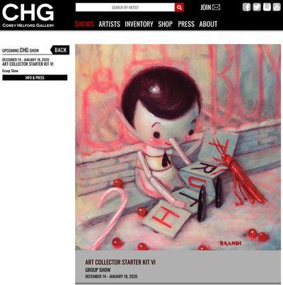 Christybomb  X Corey Helford Gallery!