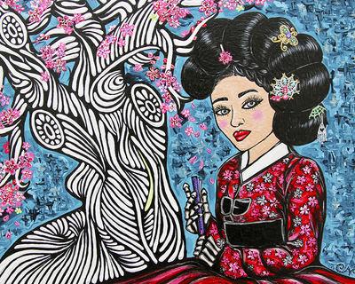 """""""Queen Min"""" Claims Throne @ Mishkin Gallery in Manhattan"""
