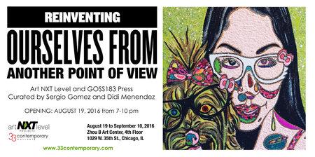 Christybomb's Glitter Self-Portrait in Chicago